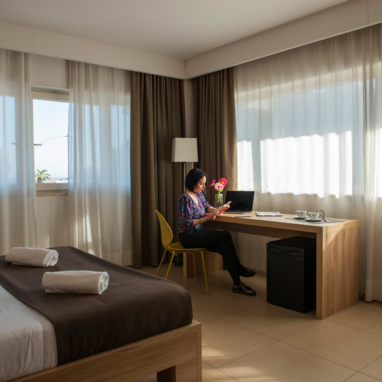 Hotel with soundproof rooms in Civitanova